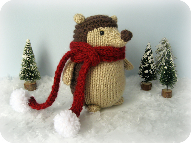 Free knitting pattern for Hedgehog Amigurumi and wild animal knitting patterns