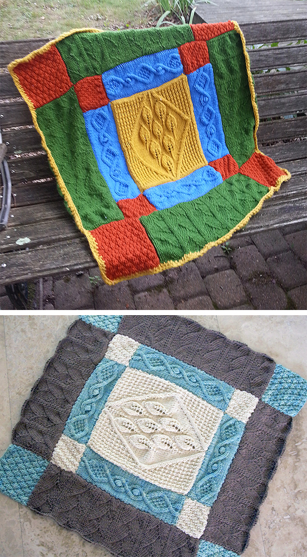 Free Knitting Pattern for Heirloom Baby Blanket