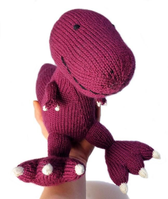 f049a90e3f286 Knitted Dinosaurs  15 Prehistoric Pals to Knit from Scratch