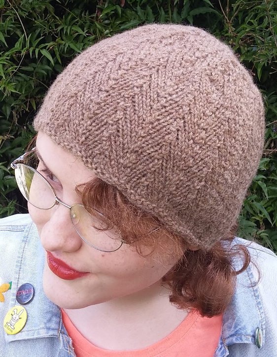 Free Knitting Pattern for Northwest Herringbone Hat