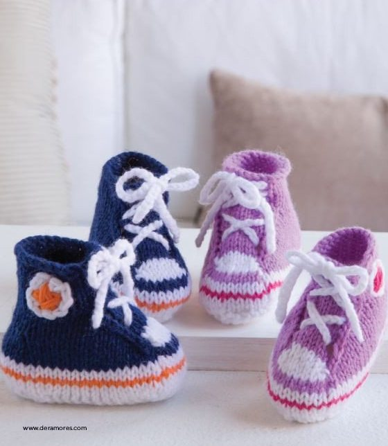 knitting instructions for baby booties