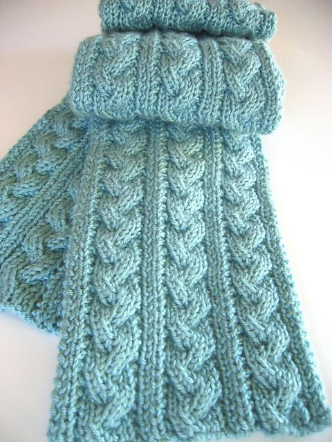 Reversible Scarf Knitting Patterns In The Loop Knitting