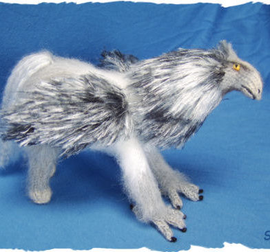 Knitting Pattern for Hippogryph