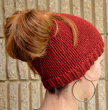 Free Knitting Pattern for Holey Hat