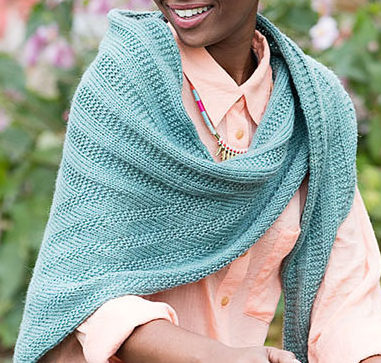 Knitting Pattern for Easy Holmes Shawl