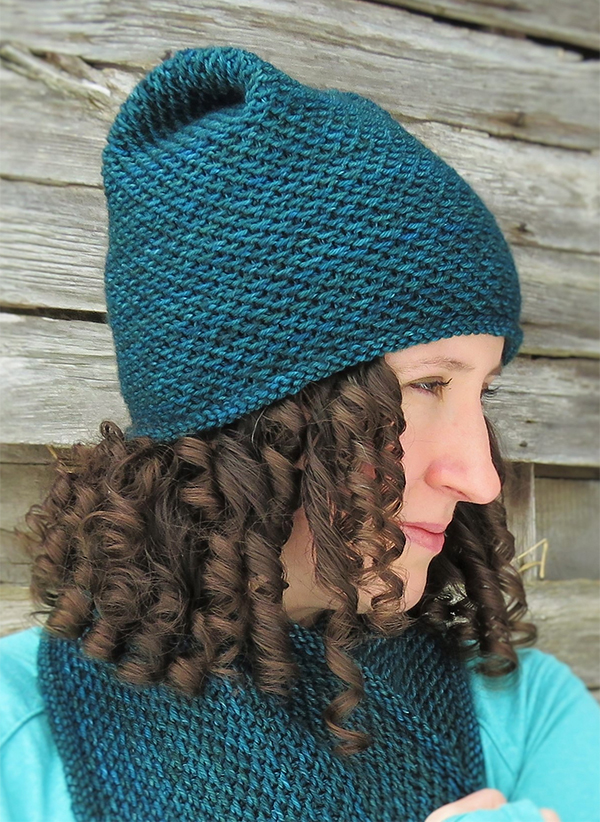 Free Knitting Pattern for Honey Hat