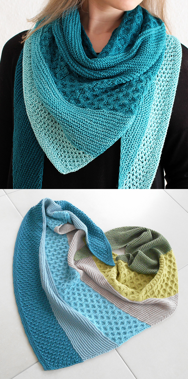 Honeycomb Cable Knitting Patterns- In the Loop Knitting
