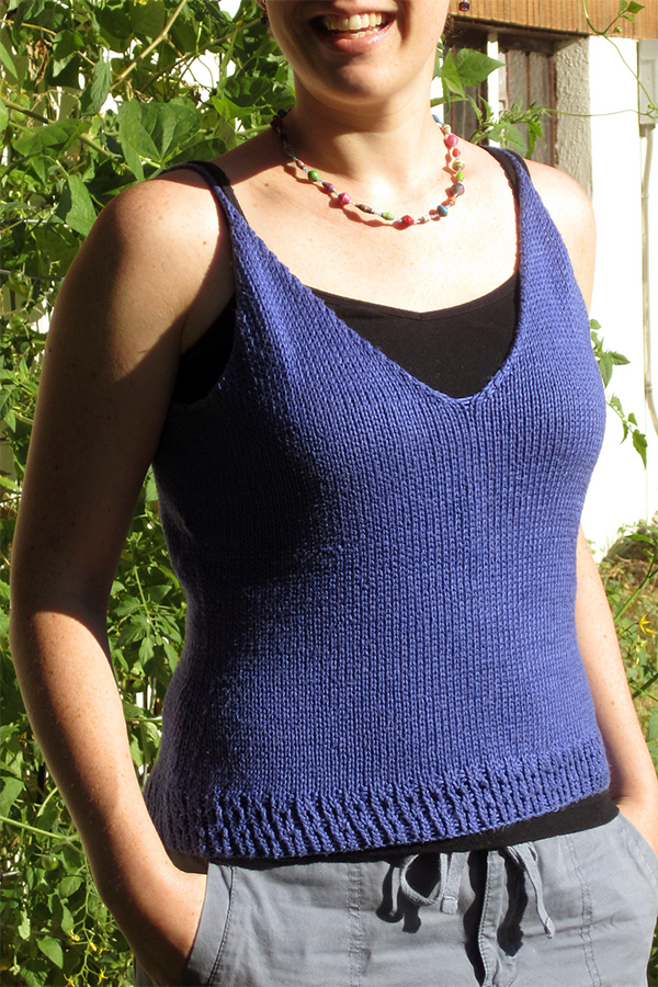 Camisole Knitting Patterns In The Loop Knitting