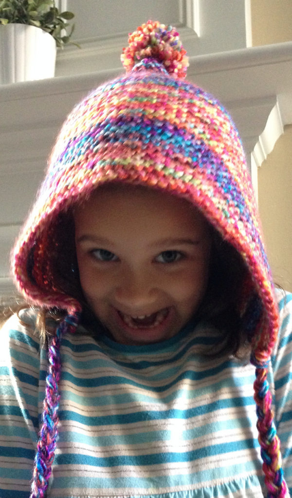 Free Knitting Pattern for Hood Hat
