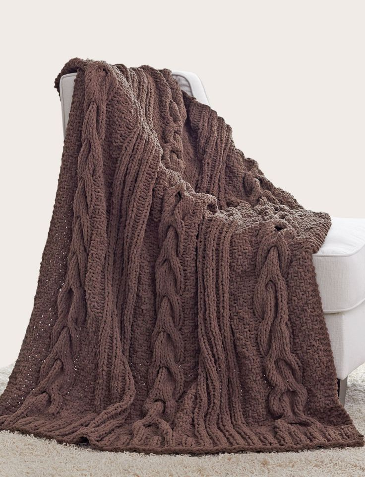 82722960c384 Cable Afghan Knitting Patterns - In the Loop Knitting