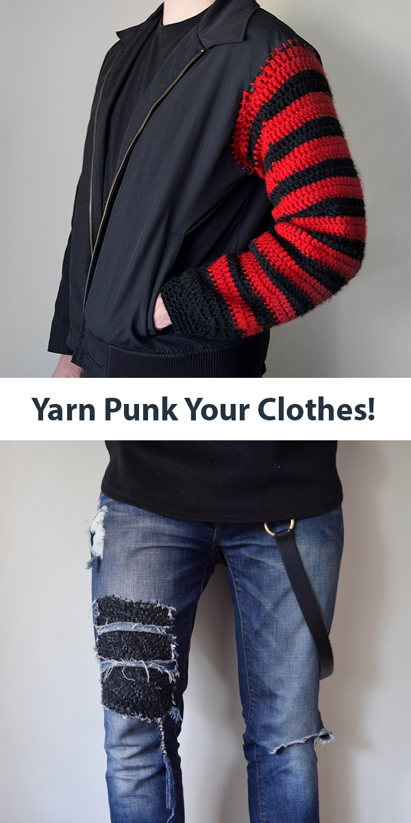 How to Yarn Punk Your Clothing