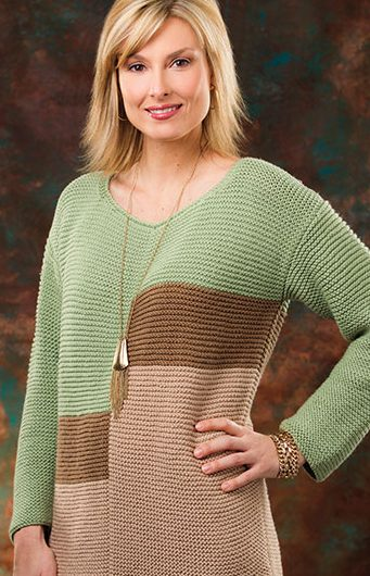 Knitting Pattern Hudson Valley Tunic