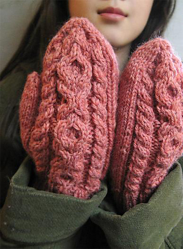 Free Knitting Pattern for Hugs & Kisses Scarf