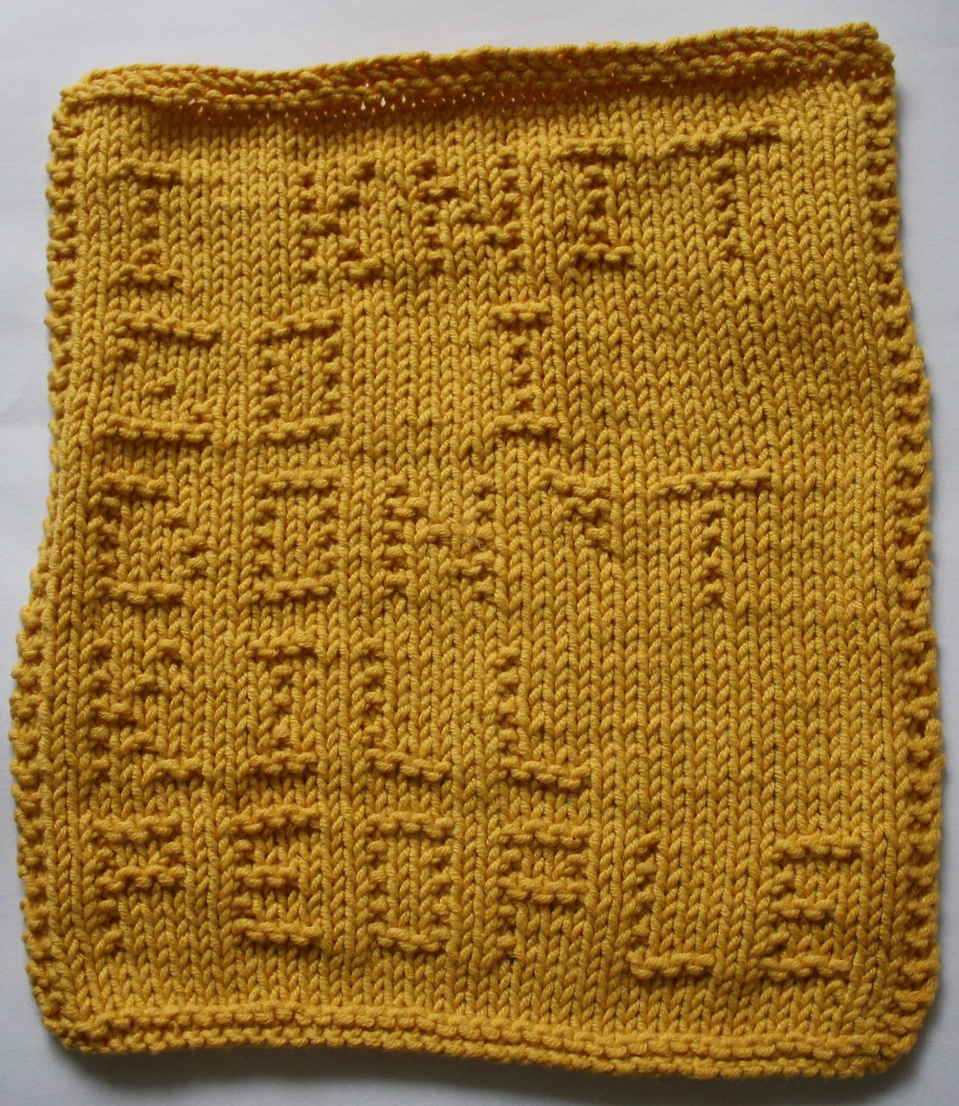 Free Knitting Pattern for I Knit So I Don't Kill People Cloth