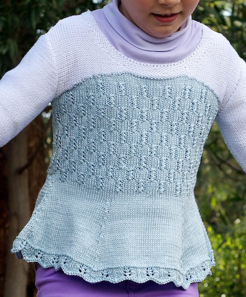 Knitting Pattern for Ice Queen Elsa Sweater