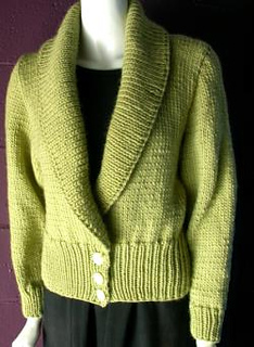 Shawl Collar Cardigan Free Knitting Pattern and more cardigan sweater knitting patterns