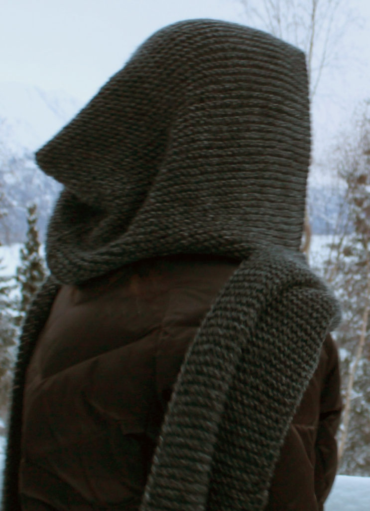 Free Knitting Pattern for Idlewild Garter Stitch Scarf