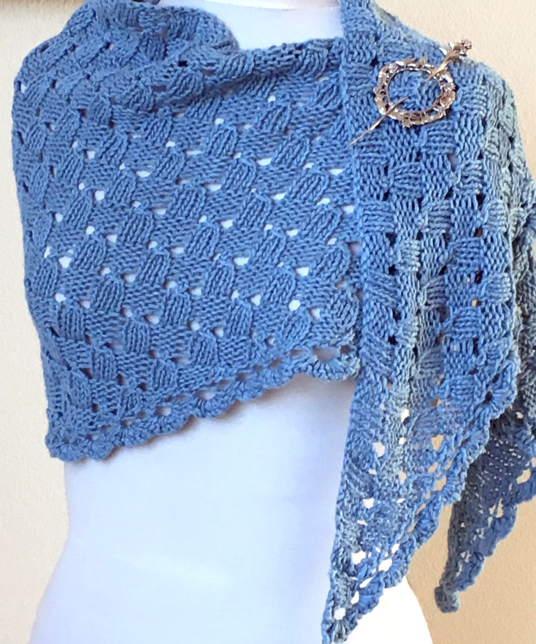 Free Knitting Pattern for Imposter's Shawl