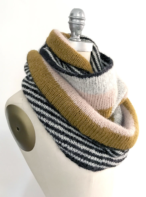 Free Knitting Pattern for In the Loop Cowl
