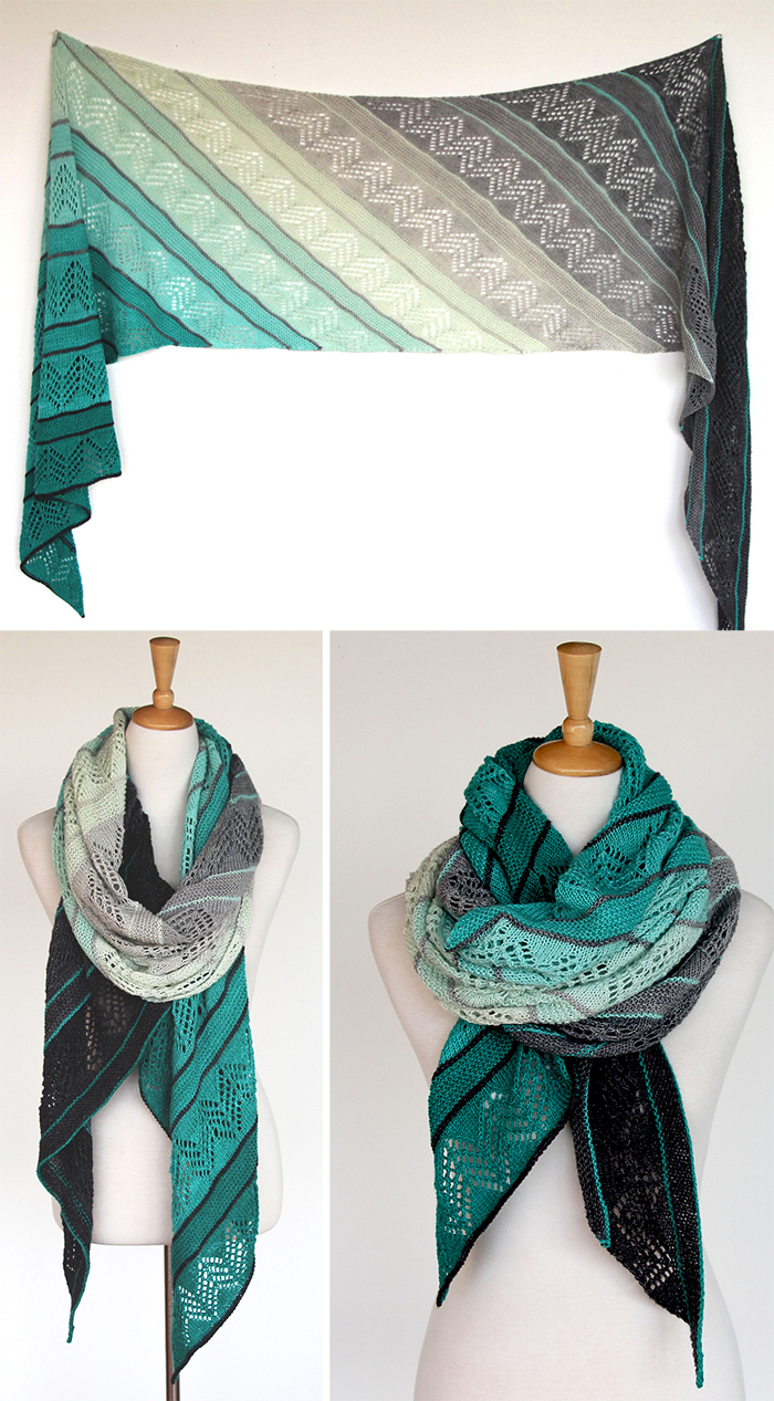 Knitting Pattern for Inara Wrap