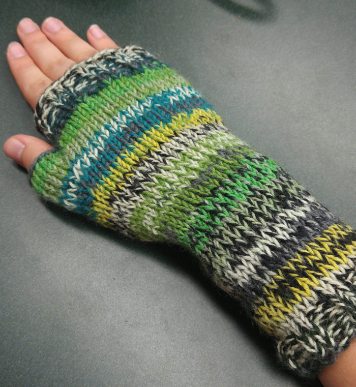 Free Knitting Pattern for Ingy's Handwarmers