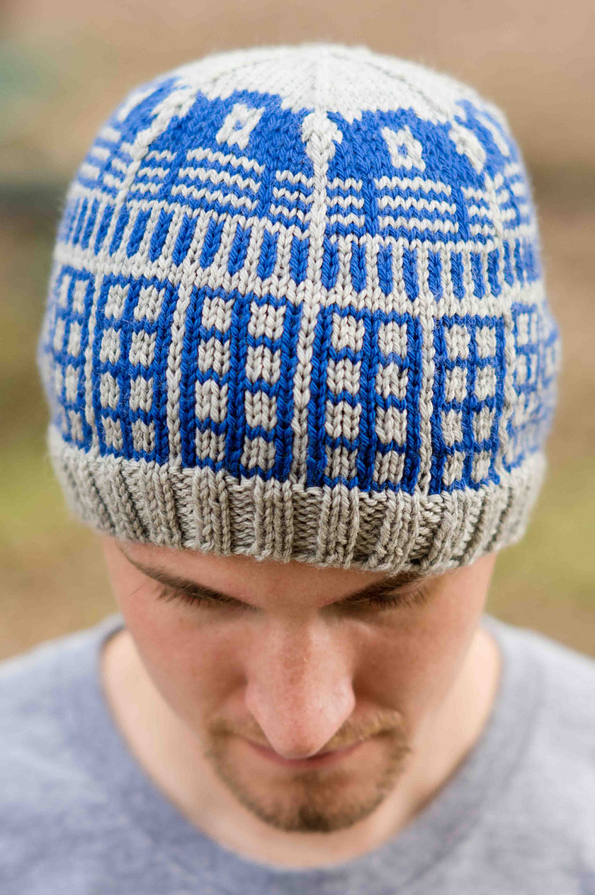 Free Knitting Pattern for Dalek Hat