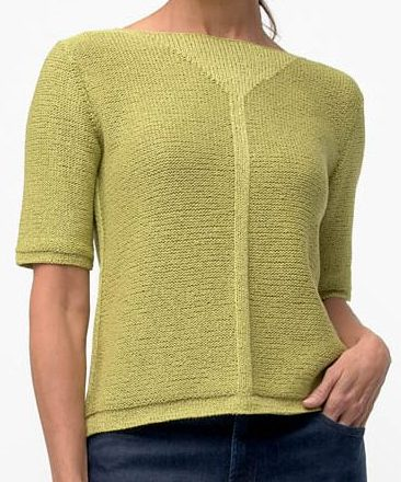 Knitting Pattern for Interval Pullover