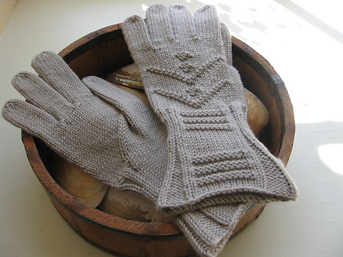Knitting Pattern for Inverness Gloves
