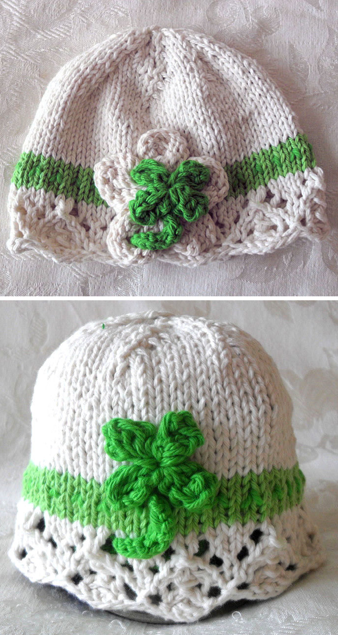 Knitting Pattern for Irish Cloche