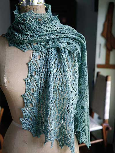 Lacy Scarf Knitting Patterns - In the Loop Knitting