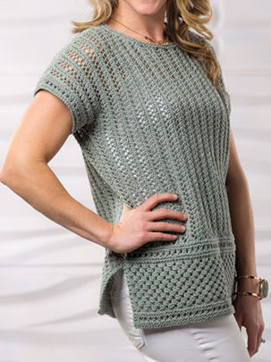 Knitting Pattern for Island Winds Tee
