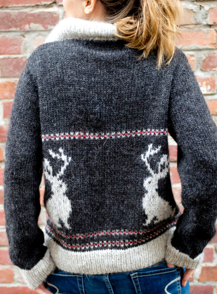 Knitting Pattern for Jackalope Sweater