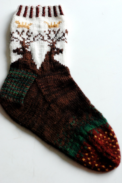 Oh, Jamie, My Jamie Socks Free Knitting Pattern | Outlander Inspired Knitting Patterns at http://intheloopknitting.com/outlander-inspired-knitting-patterns/