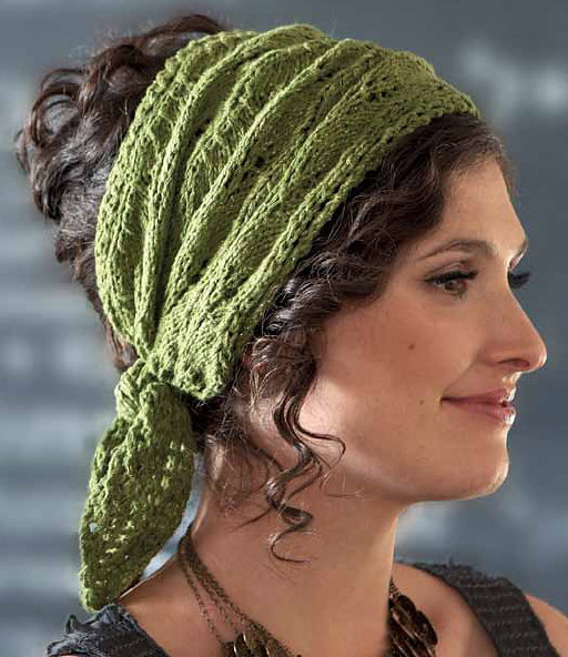 Knitting Pattern for Jasmin Headwrap