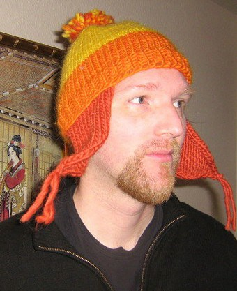 Free knitting pattern for Firefly's Jayne Cobb hat and more move and tv knitting patterns