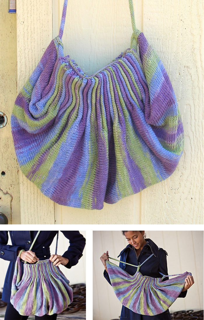 Knitting Pattern for Jellyfish Bag