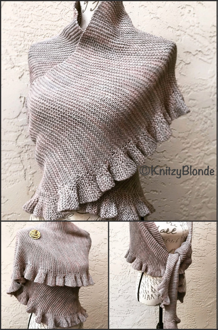 Knitting Pattern for Jennys Shawl