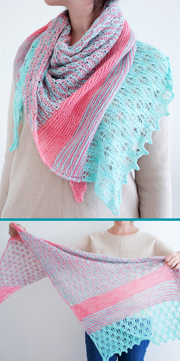 Knitting Pattern forYoung Sprout Shawl