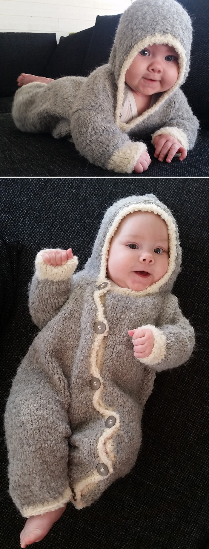 37cc792ca Baby Onesie and Romper Knitting Patterns - In the Loop Knitting