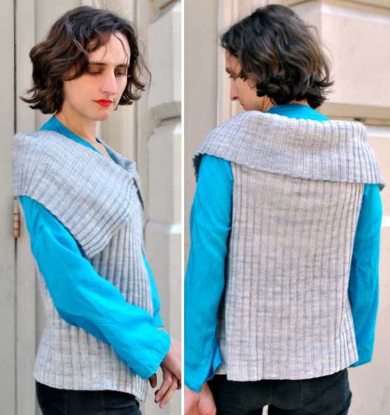 Free Knitting Pattern for Easy Joelle's Favorite Vest