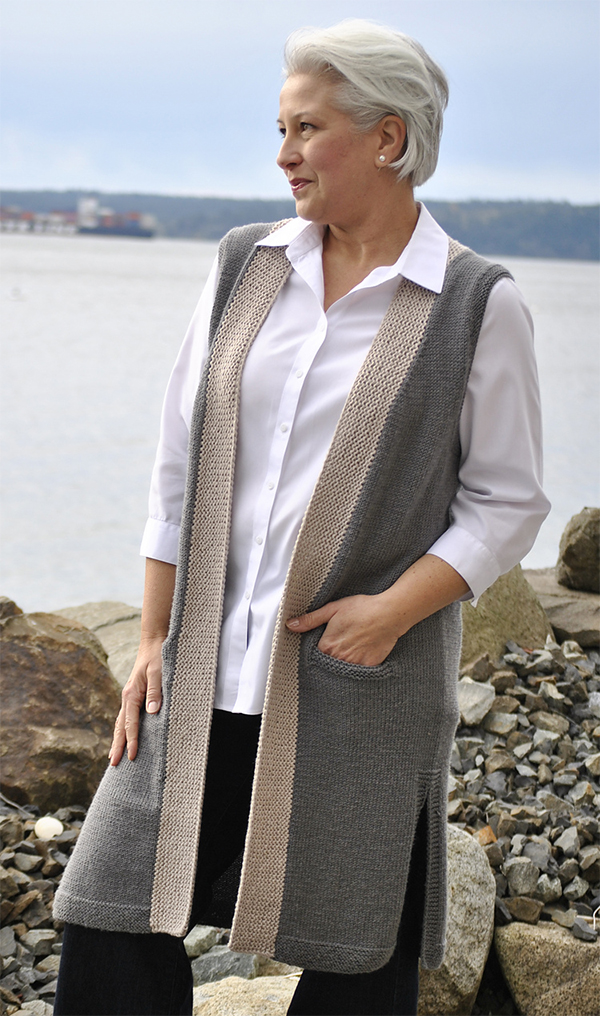 9f5924a6b Vest Knitting Patterns- In the Loop Knitting
