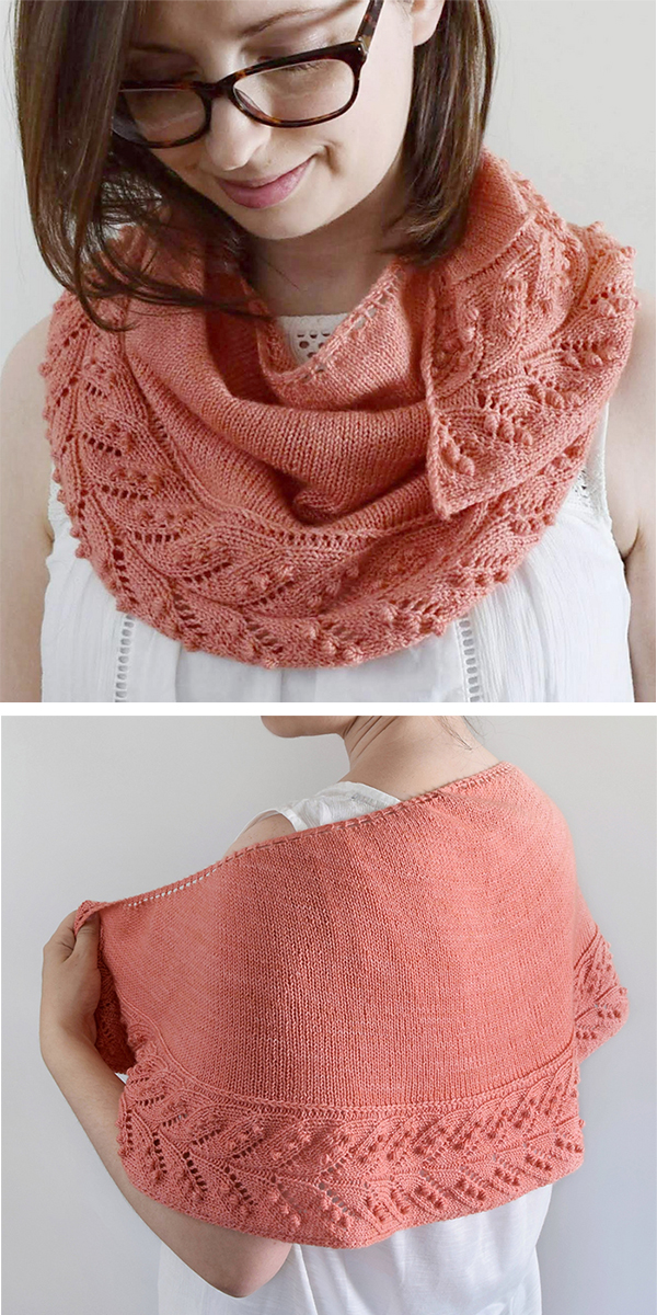 Knitting Pattern for Juniper Shawl