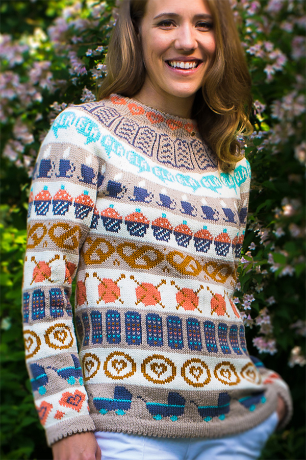 Free Pattern for Café Sweater