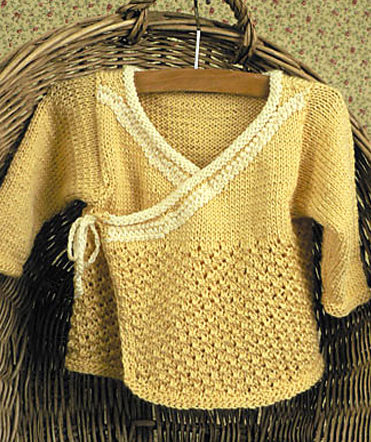883ee54dc Baby Wrap Sweater Knitting Patterns - In the Loop Knitting