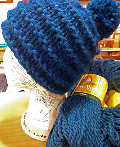 Free knitting pattern for 2 Hour Hat and more one day knitting patterns