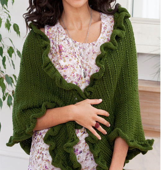 Free Knitting Pattern for Kate's Shawl