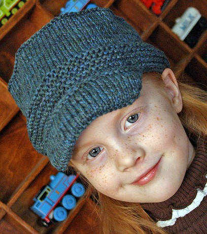 ad5c6fdffbd Hats With Bills and Brims Knitting Patterns - In the Loop Knitting