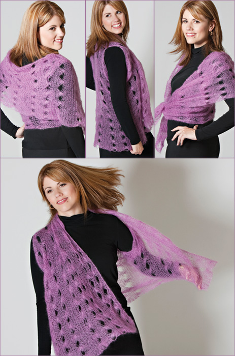 Free Knitting Pattern for Crosshatch Vest
