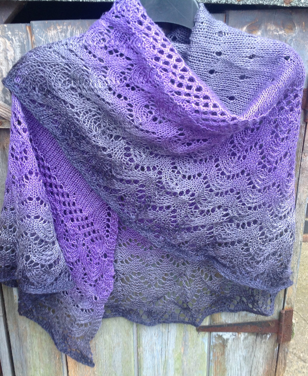 One Skein Shawl Knitting Patterns - In the Loop Knitting