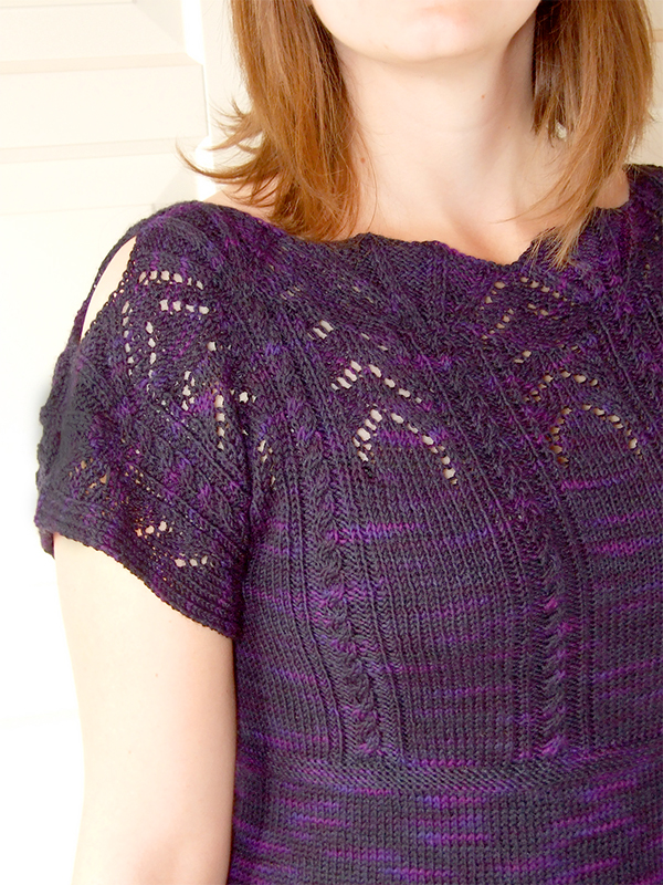 Free Knitting Pattern for Kirsche Top